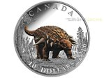 10 $ Dollar Day of the Dinosaurs The Armoured Tank Kanada 1/2 oz Silber PP 2016