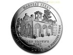 America the Beautiful ATB Harpers Ferry West Virginia USA 5 oz Unzen Silber 2016 **