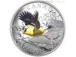20 $ Dollar Migratory Birds Convention American Goldfinch 1 oz Silber PP 2016