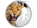 2 $ Dollar Kings of the Continents Jaguar Niue Island 1 oz Silber 2016 **