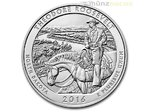America the Beautiful ATB Theodore Roosevelt National Park N. Dakota USA 5 oz Unzen Silber 2016 **
