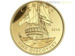200 $ Dollar Tall Ships Legacy Discovery Kanada 1 oz Gold PP 2016