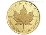 200 $ Dollar Canada 150 - Iconic Maple Leaf Kanada 1 oz Gold PP 2017