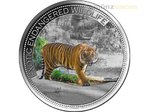 10 $ Dollar Malayan Tiger Malaysia Tiger High Relief Fiji 2 oz Silber 2016 **