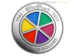 25 $ Dollar 35th Anniversary 35 Jahre Trivial Pursuit Piedfort Kanada 1 oz Silber 2017 **