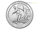 America the Beautiful ATB Fort Moultrie South Carolina USA 5 oz Unzen Silber 2016 **