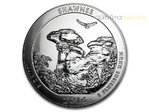 America the Beautiful ATB Shawnee National Forest Illinois USA 5 oz Unzen Silber 2016 **