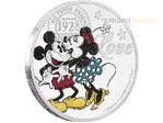 2 $ Dollar Disney Mickey & Minnie Mouse Crazy Love True Love Forever Niue Island 1 oz Silber 2017 **