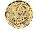 25 Pfund Pounds The Queen's Beasts The Griffin Großbritannien 1/4 oz Gold 2017