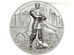 10 $ Dollar Legends of Camelot King Arthur Ultra High Relief Cook Islands 2 oz Silber 2016 **