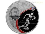 3 Rubel Fussball WM Fifa World Cup Host City Ekaterinburg Russland 1 oz Silber PP 2018