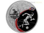 3 Rubel Fussball WM Fifa World Cup Host City Kazan Russland 1 oz Silber PP 2018
