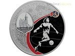 3 Rubel Fussball WM Fifa World Cup Host City Kaliningrad Russland 1 oz Silber PP 2018