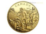 200 $ Dollar Great Canadian Explorers Alexander Mackenzie Kanada 1/2 oz Gold PP 2017
