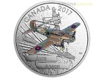 20 $ Dollar Aircraft of Second World War Avro Anson Kanada 1 oz Silber PP 2017 **