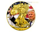 1 $ Dollar President Donald Trump - Special Edition Eagle Liberty USA 1 oz Silber 2016