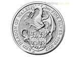5 Pfund Pounds The Queen's Beasts Red Dragon of Wales Großbritannien 2 oz Silber 2017 **