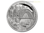 5 $ Dollar Sydney Harbour Bridge High Relief Niue Island 2 oz Silber 2017