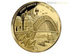 100 $ Dollar Sydney Harbour Bridge Niue Island 1 oz Gold 2017