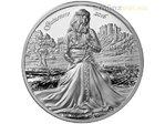 10 $ Dollar Legends of Camelot Guinevere Ultra High Relief Cook Islands 2 oz Silber 2016 **