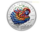 25 $ Dollar Dragon Boat Festival Ultra High Relief Kanada 1 oz Silber PP 2017 **