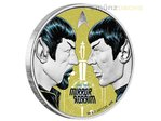 1 $ Dollar Star Trek Spock Mirror Mirror Enterprise Tuvalu 1 oz Silber PP 2017 **