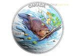 10 $ Dollar Iconic Canada The Beaver Biber Kanada 1/2 oz Silber 2017 **