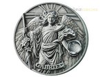 5 $ Dollar The Choir of Angels - Erzengel Gabriel Ultra High Relief Niue Island 2 oz Silber 2017