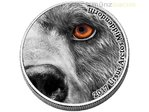 2000 Francs Natures Eyes Kodiak Bear Kodiakbär Kongo Congo 2 oz Silber 2017