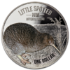 1 $ Dollar Little Spotted Silver Proof Kiwi Neuseeland 1 oz Silber PP 2018 **