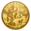 200 $ Dollar Early Canadian History - First Nations Kanada 1/2 oz Gold PP 2018