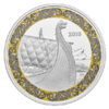 20 $ Dollar Norse Figureheads - Dragon's Sail Kanada 1 oz Silber PP 2018 **
