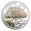 15 $ Dollar Celebration of Spring Apple Blossoms - Apfelblüte Kanada Silber PP 2018 **