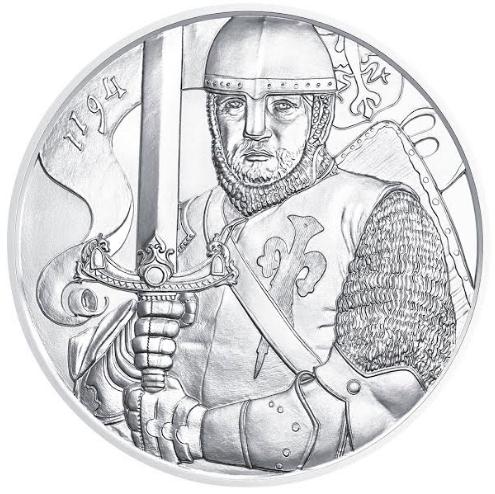 15 Euro 825 Jahre Münze Wien 825th Ann Austrian Mint Leopold V