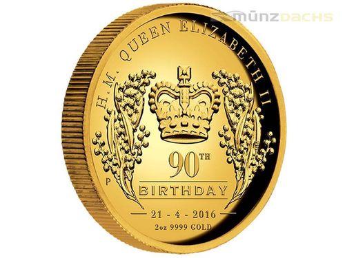 200 Dollar 90 Geburtstag 90th Birthday Queen Elisabeth High