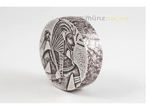 3000 Francs Egyptian Relic - King Tut Tschad Chad 5 oz Silber 2016 **