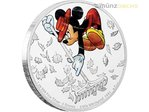 2 $ Dollar Disney Through the Ages Mickey Mouse The Little Whirlwind Niue Island 1 oz Silber 2017 **