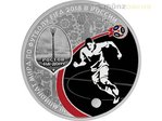 3 Rubel Fussball WM Fifa World Cup Host City Rostov-on-Don Russland 1 oz Silber PP 2018