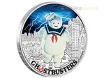 1 Dollar Ghostbusters™ - Stay Puft Tuvalu 1 oz Silber PP 2017 **