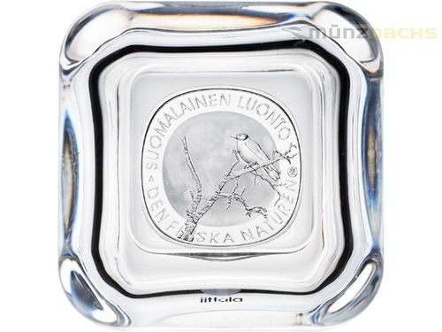20 Euro Sonderedition Finish Nature - Finnland's Natur im Glasetui Finnland Silber PP 2017