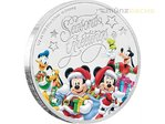 1 $ Dollar Disney Weihnachten Season's Greetings Niue Island 1/2 oz Silber 2017 **