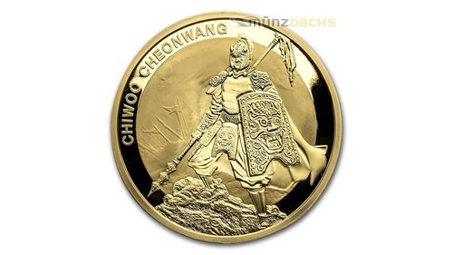 1 Clay Chiwoo Cheonwang South Korea Südkorea 1 oz Gold BU 2016