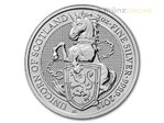 5 Pfund Pounds The Queen's Beasts The Unicorn - Einhorn Großbritannien 2 oz Silber 2018 **