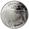 10 $ Dollar Little Spotted Silver Proof Kiwi Neuseeland 5 oz Silber PP 2018 **