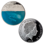 1 $ Dollar Sperm Whale Pottwal New Zealand Neuseeland 1 oz Silber PP 2018 **