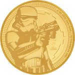250 $ Dollar Star Wars Stormtrooper Niue Island 1 oz Gold 2018