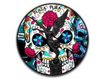 Black Libertad Day of the Dead - Dia de los Muertos Mexiko 1 oz Silber 2017