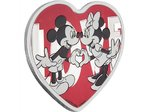 2 $ Dollar Disney Mickey & Minnie Mouse With Love Niue Island 1 oz Silber 2018 **