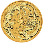 100 $ Dollar Dragon & Phoenix Australien 1 oz Gold 2018