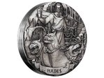 2 $ Dollar Gods of Olympus Hades High Relief Cook Islands 2 oz Silber 2017 **